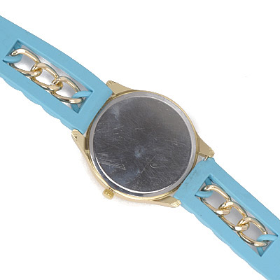 Blue Chain Electronic Elements Ladies Watch