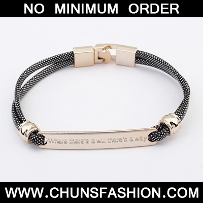 Black Metal CCB Bracele