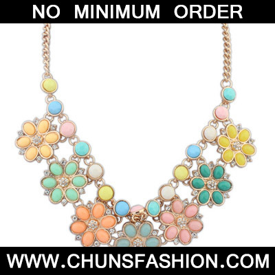 MultiFlower Necklace