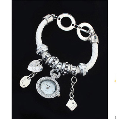 White Multielement Ladies Watch