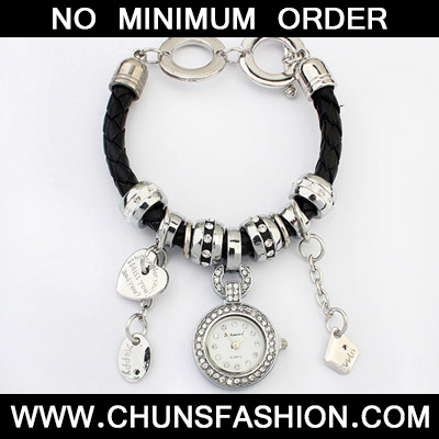 Black Multielement Ladies Watch