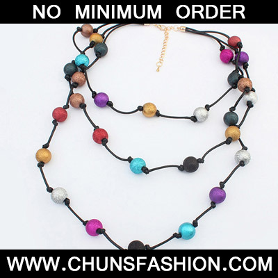 MultiBeads Multilayer Necklace