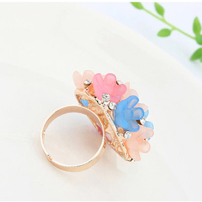MultiCandy Flower Ring