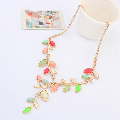 MultiLeaf Shape Jewelry Set