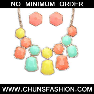 MultiGeometrical Shape Jewelry Set