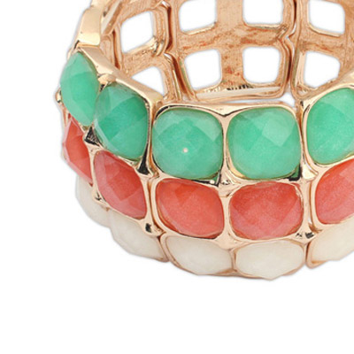 MultiSquare Multilayer Bangle