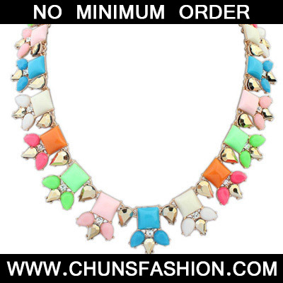 MultiSqaure Shape Necklace