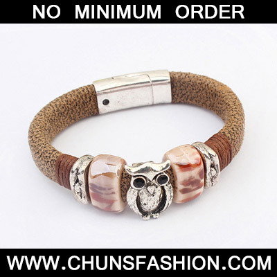 Coffee Owl Shape Bracele