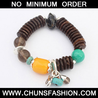 Size Brown Beads Bracele