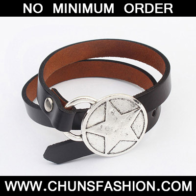 Black Star Pattern Bracele