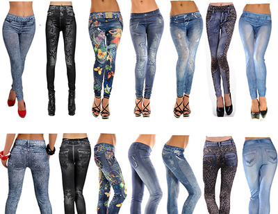 60 X Pair Brand New Jeans Leggings #68