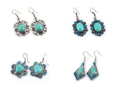72 X Turquoise Earrings #20