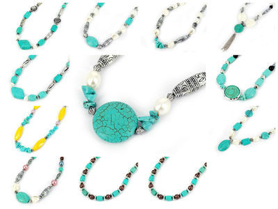 48 X Turquoise Necklace #11